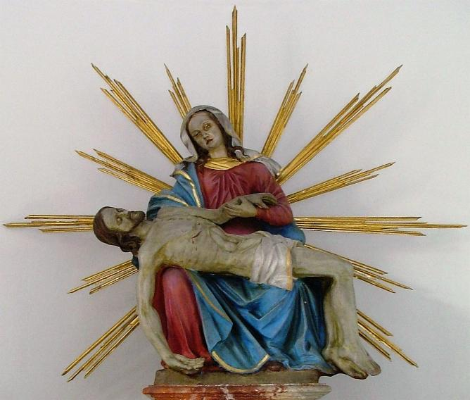 Die Pieta in der Kapelle!